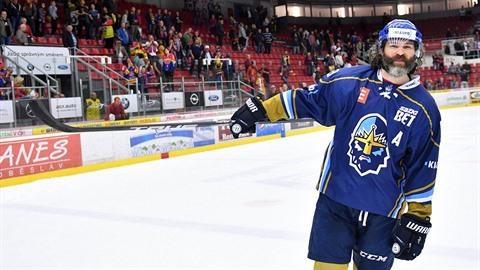 Jaromír Jágr je zase král. Jeho Kladno postoupilo do hokejové extraligy. On to...