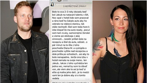 Agáta Prachařová zveřejnila zprávu, která Jakuba obviňuje z nevěry.