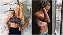 Holky vypadají spíše jako fitness modelky.