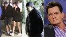 Charlie Sheen nevypadá vůbec dobře. Působí pohuble a bledě!