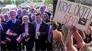 Na Václaváku řečnila Le Penová i Wilders, návštěvníci srovnávali Ortel s Karlem...