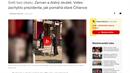 Redakce Seznam Zprávy uveřejnila videonahrávku, která je podle informací...