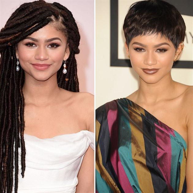 Zendaya mění vlasy skoro pořád