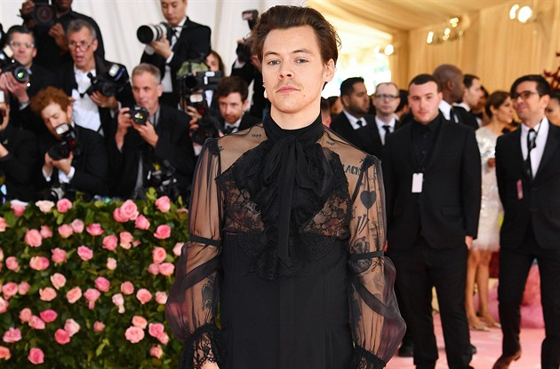 Harry Styles na Met Gala