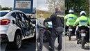 Jako v akčním filmu! Policisté pronásledovali Poláka nejprve v autech, pak i...