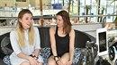 Anička přišla podpořit organizaci Women for women na podporu matek...