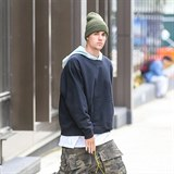 Justin Bieber vypadá sakra drsně.