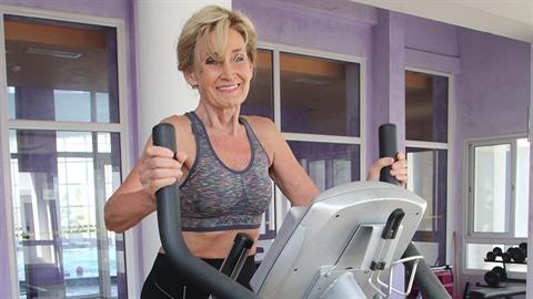 Zuzana Bubílková stále ráda cvičí.