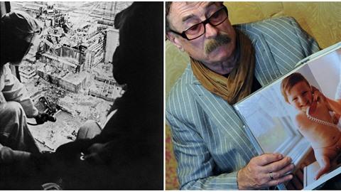 Igor Kostin proslul jako fotograf, co pořídil první fotky tragédie v Černobylu.