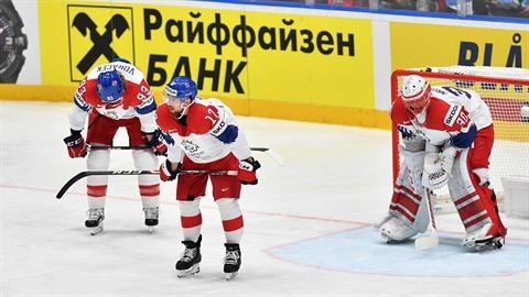 Zase to nevyšlo. Češi prohráli na mistrovství světa zápas o třetí místo.