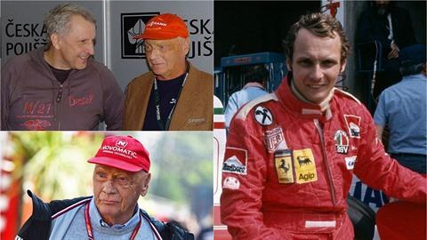 Antonín Charouz promluvil o přátelství s Niki Laudou.