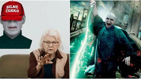 Lord Voldemort ze ságy o Harry Potterovi Piráty baví. Využili ho i v kampani do...