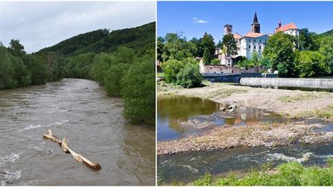 Česko se potýká s rozmary počasí. Po dlouhotrvajícím suchu přišlo pár dní deště...
