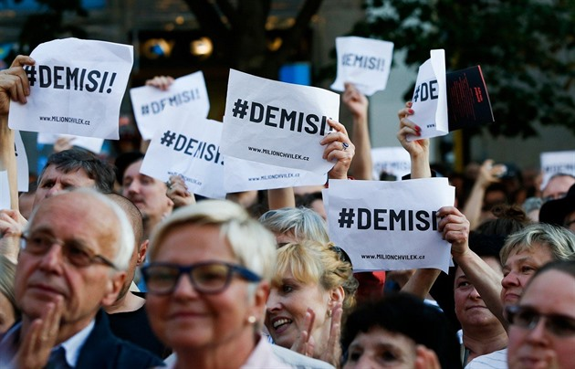 Demonstrace Milion chvilek