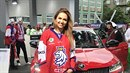 Lucie Kovandová na MS v ledním hokeji v Bratislavě