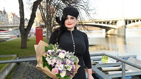 Jitka Čvančarová vystoupí na demonstraci, kterou svolalo hnutí Milion chvilek...