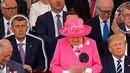 Premiér Andrej Babiš seděl rovnou za královnou Alžbětou II.