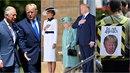 Donald Trump se ve Velké Británii dočkal přivítání od samotné královny Alžběty.