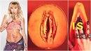 Miley jede na IG ovocný bomby.