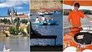 Na Vltavě začíná být těsno. Kapitáni lodí mají pifku na lidi na šlapadlech,...