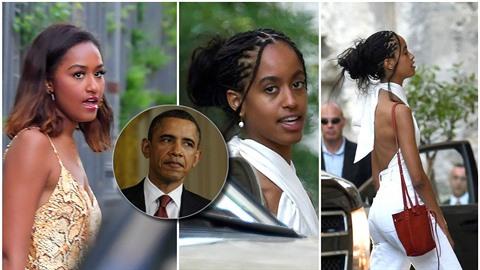 Exprezidentovy dcery vypadají skvěle.