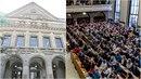 Na Právnické fakultě došlo k mimořádnému zasedání akademického senátu. Ten...