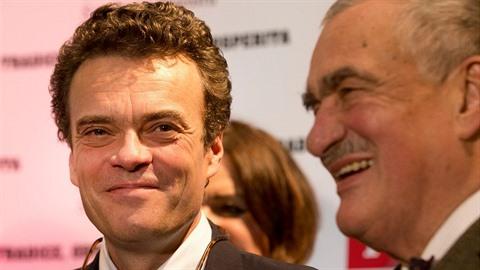 Karel Schwarzenberg má jasno. TOP 09 by měl vést senátor Tomáš Czernin.