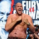 Tyson Fury před svým posledním zápasem.