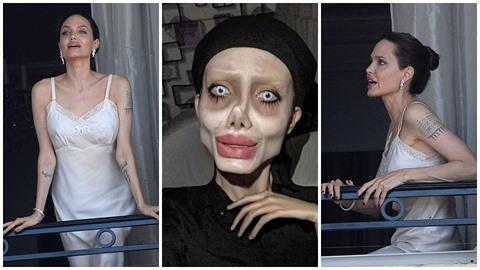 Angelina začala hubnout do podoby svojí slavné fanynky.