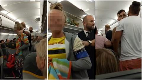 Žena odmítla letět s muži, které nazvala teroristy.