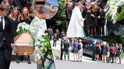 Pohřeb oběti rychnovského vraha