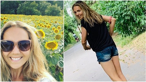 Lucie Vondráčková vypadá v Česku spokojeně.