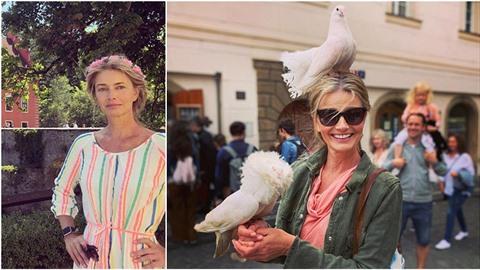 Sotva Pavlína Pořízková dorazí do Prahy, hodí jí na hlavu holuba!