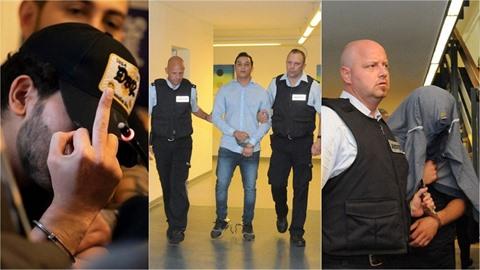 Ve Freiburgu pokračuje obří proces s jedenácti migranty, kteří měli dvě a půl...