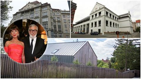 Rodina Bartoškových po Česku vlastní nemovitosti v hodnotě desítek milionů...