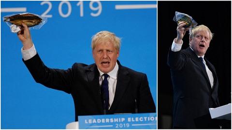 Boris Johnson zuří nad nařízeními Evropské unie. Vadí mu třeba to, že uzení...