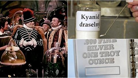 Muž na Brněnsku ukradl tři kila kyanidu, ze kterého chtěl vyrobit stříbro....