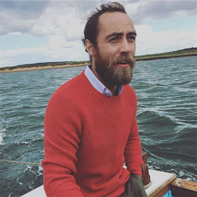 James Middleton je milovník vody.