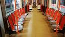 Dopravní podnik v Praze testuje nové sedačky a jejich postavení ve vagonech...