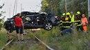 Ve zdemolovaném voze zahynuli dva dospělí a dvě děti. Výstražná signalizace...