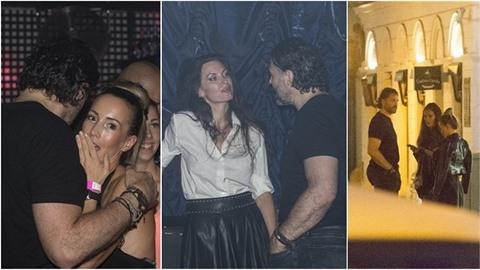 Jaromír Jágr byl na oslavě DJ Uwy přímo v obležení žen!