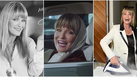 Chantal Poullain jde z reklamy do reklamy. Propagovala auta, zmrzlinu, pánve i...