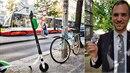 Nejnovější studie ukazují, že elektrické koloběžky škodí víc, než když se...