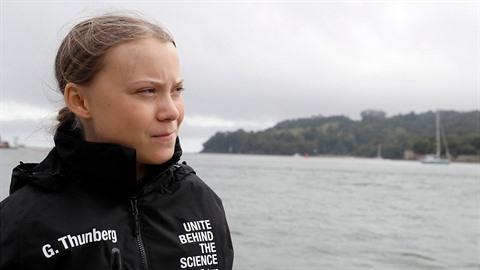Greta Thunberg míří do USA. Její rádoby ekologická cesta je obří pokrytectví.