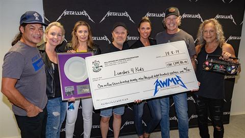 Metallica zaplatila českým dětem obědy.