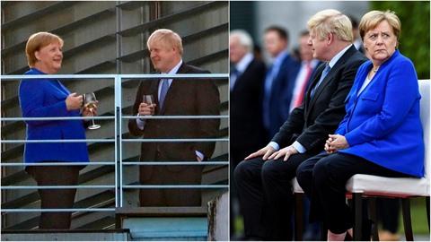 Boris Johnson se setkal s Angelou Merkelovou. Byli samý vtípek a došlo i na...