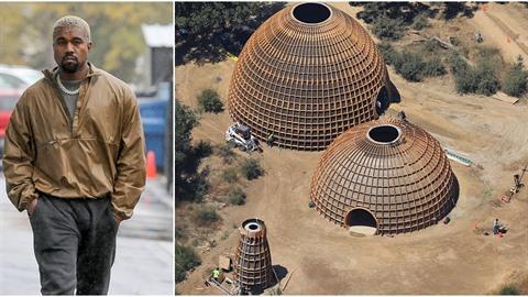 Kanye West myslí na potřebné: Na svém pozemku staví futuristické domy pro lidi...
