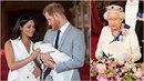 Meghan s Harrym odmítli navštívit královnu ve Skotsku, syn Archie je prý moc...