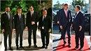 Andrej Babiš se potkal se starým známým, maďarským premiérem Viktorem Orbánem....