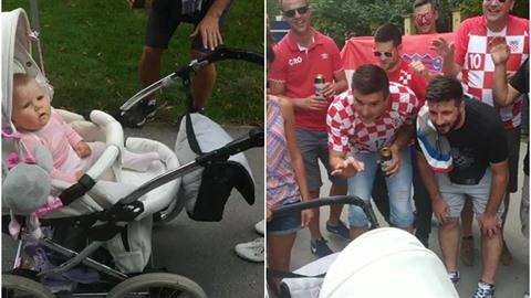 Chorvati uspali dítě chorvatskou ukolébavkou.